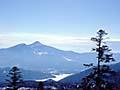 磐梯山をのぞむ絶景