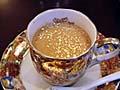 金箔入りコーヒー